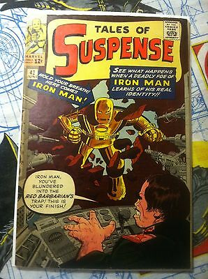 TALES OF SUSPENSE #42 1963 4TH appearance of Iron Man NICE L@@K! Key issue