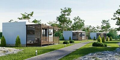 3 x Two Bedroom Mobile Home All Year Long Prefabricated