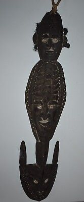 orig $499 PAPUA NEW GUINEA HOOK FIGURE EARLY 1900S 26IN