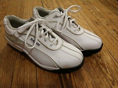 c86f28f77 Footjoy Greenjoy Golf Shoes White Mens 9 M PERFECT Rubber Soft Spikes FJ