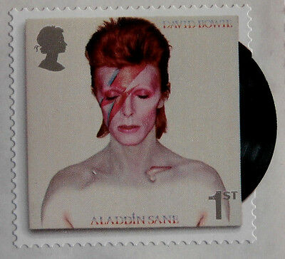 DAVID BOWIE Individual ROYAL MAIL First Class postage stamp - MINT