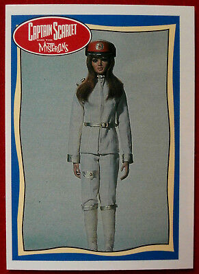 CAPTAIN SCARLET - Rhapsody Angel - Card #58 - Topps, 1993, Gerry Anderson