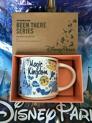 Starbucks Been There Series 2019 Magic Kingdom Mickey Ceramic Coffee Mug Disney