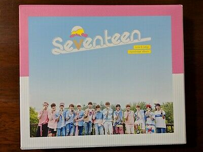 Seventeen Love and Letter Repackage Album (NO PCs, no extras)