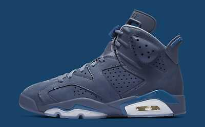 9faf73136dfb3 AIR JORDAN 6 VI Retro Jimmy Butler Mens 384664-400 Diffused Blue ...