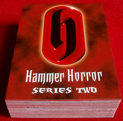HAMMER HORROR - Series Two - COMPLETE BASE SET of 54 cards - Strictly Ink 2010