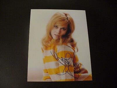 Jane Fonda Extremely Rare In Person Hand Signed Vintage 8x10 Photograph W/COA #3