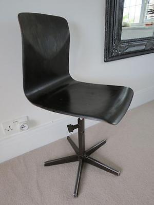 Mid Century Swivel Office Chair Thur Op Seat Germany Height Adjustable Chair