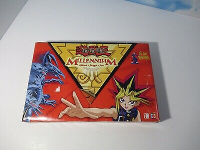 Yu-Gi-Oh Millennium Board Game 100% COMPLETE Mattel 2002 Joey Mia Kaiba Figures