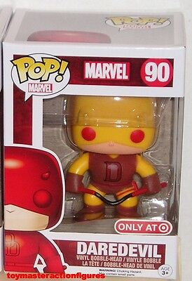 FUNKO POP Marvel RED & YELLOW DAREDEVIL #90 TARGET EXCLUSIVE IN STOCK