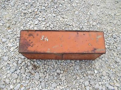 Allis Chalmers WD 45 WD45 45 tractor AC fender mount tool box w /lid