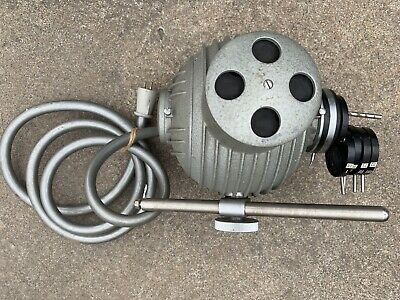 Carl Zeiss HBO 200 W/4 Microscope illuminator Lab Lamp Housing With Power Cord