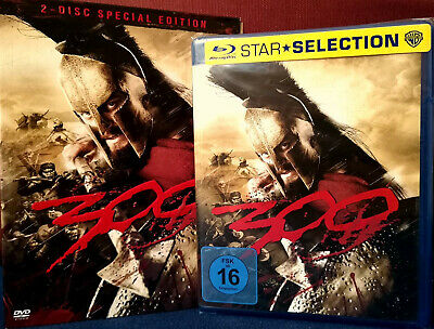 300 Blu-ray + Special Edition 2 Disc DVD / neu & OVP / Bluray / Zack Snyder