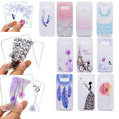 Slim Shockproof Silicone Soft Rubber Phone Case Cover For Samsung Galaxy Note 8