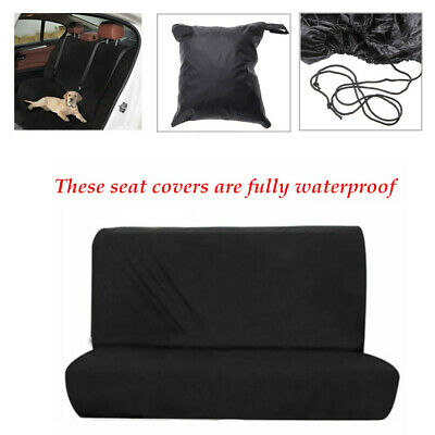Waterproof Nylon Car Rear Back Seat Cover Pet Protector Fit Most Saloons