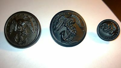 Buttons, United States, Original Period Items, WW II (1939