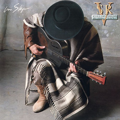 STEVIE RAY VAUGHAN & DOUBLE TROUBLE-IN STEP-JAPAN CD BONUS TRACK Ltd/Ed B63