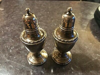 Pair Of LaPierre Sterling Silver Salt and Pepper Shakers #24