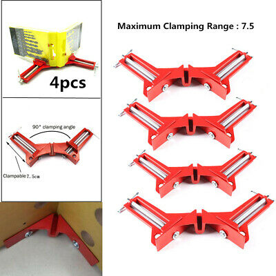 4pcs 90 Degree Right Angle Clamp Picture Frame Woodworking Corner Clamp #JD
