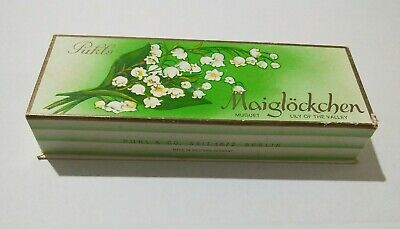 Empty soap box PUHLS MAIGLOCKCHEN LILY OF THE VALLEY Made in West Germany