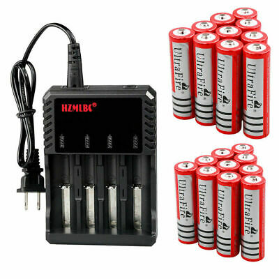 3000mAh 18650 Battery 3.7V Li-ion Rechargeable Batteries For Torch LOT