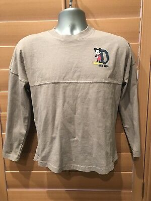 "Disneyparks ""Disneyland Resort Est. 1955"" Spirit Jersey Grey X-Small  Youth Nwt"