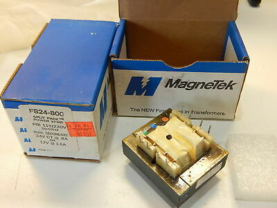 Magnetek Fs24-800 Transformer 115Vac 230Vac To 24Vct Or 12Vct - You Get 2 Pieces