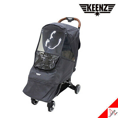 KEENZ Wind Cover For Keenz Air Plus Stroller-Gray Color(Not included wagon)
