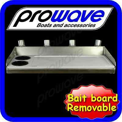 Bait board, removable, top only medium unpainted