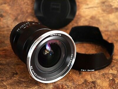 ZEISS Distagon T* 21mm f/2.8 ZE Lens For Canon - Near-Mint