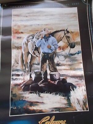 Calgary Stampede, July 6-15 2007, Western Rodeo Art Poster
