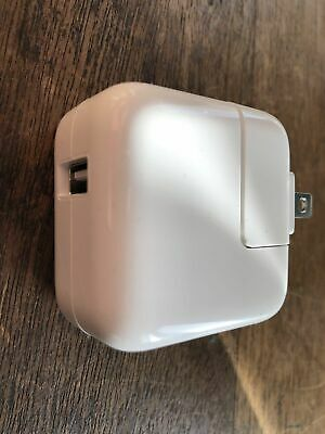 Genuine Apple 10w USB Wall Charger Adapter for iPad iPhone A1357 Authentic OEM