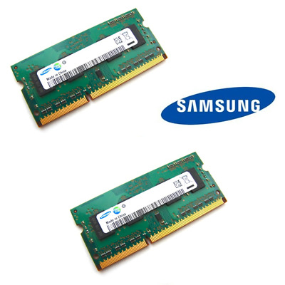 Samsung 8GB Kit (2 x 4GB) DDR3L 12800/1600MHz 1.35V SO-DIMM Laptop Memory