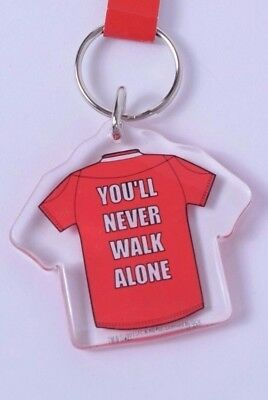 Liverpool FC Key Ring You'll Never Walk Alone Key Ring Official Merchandise