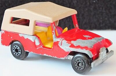 MATCHBOX LESNEY No53  CJ6 JEEP 1977-1980.  UK DISPATCH