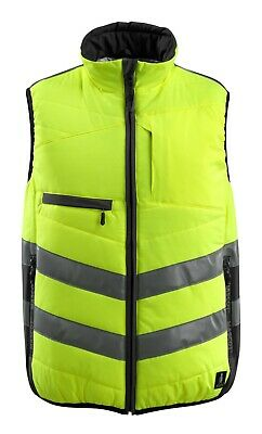 Mascot Grimsby size 4XL measured HIGH VIS winter thermal work gilet body-warmer