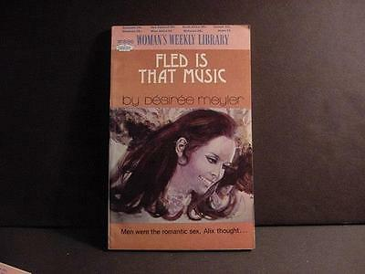 Vintage 1972 British Woman's Weekly Library 63-Pg Romance Pbk:Fled Is That Music