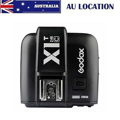 Godox X1T-C 2.4GHz TTL HSS Wireless Flash Trigger for V860II V850 TT685 TT350