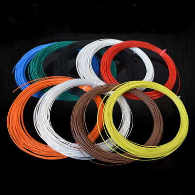 9 ~ 19AWG Insulated Copper Wire Silver Plated Single Core 0.05mm² PTFE Wire