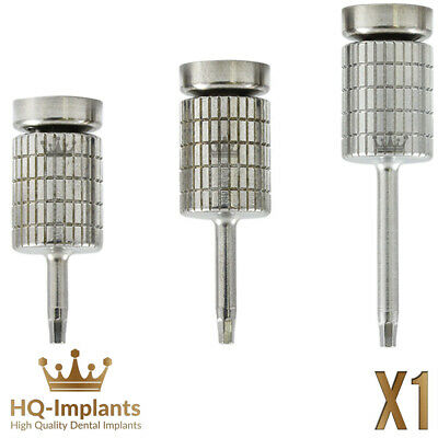 Hand Hex Driver Ø1.25 Ratchet  Dental Implant Surgical Tools Screw Abutment