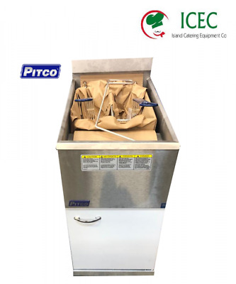 Pitco 35C+  Commercial Gas Fryer , brand new 1 year Gaurantee two baskets
