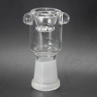 Honeycomb Screen Glass Bowl with 14mm Female joint Clear Color