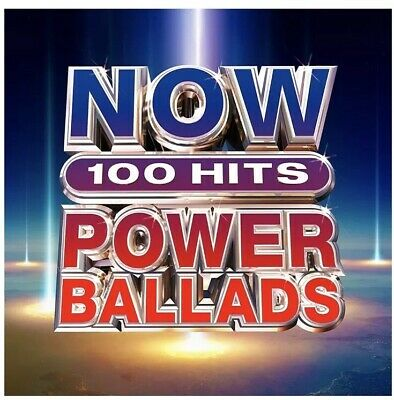 Now 100 Hits Power Ballads - CD New