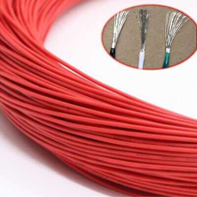 Red Equipment Wire DIY Electrical Wire Flexible Cable UL1015 8/10/12/14~24AWG