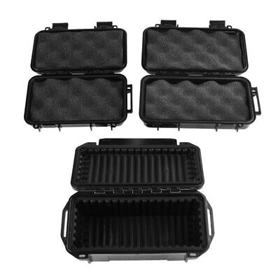 Outdoor Plastic Shockproof Sealed Waterproof Black ABS Storage Case Tool Dry Box