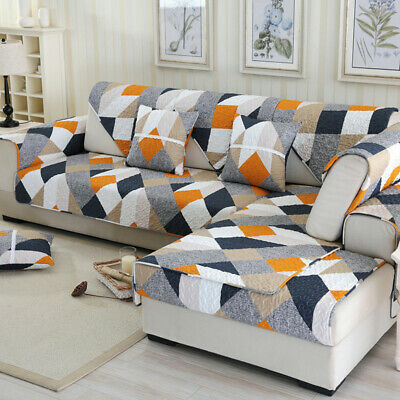 Sofa Cover Lounge Couch Removable Slipcover Washable Non-slip Seater