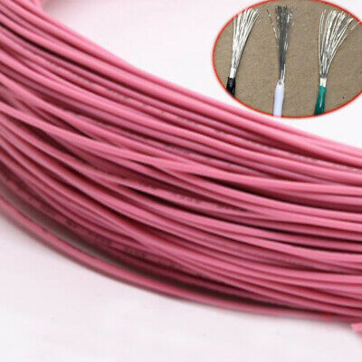 Pink Equipment Wire DIY Electrical Wire Flexible Cable UL1015 20/22AWG