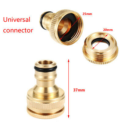 Kitchen Tap Connector Mixer Garden Hose Adaptor Pipe Joiner Fitting for 20/25mm