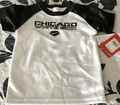 dc91427f9 Nike Embroidered Chicago White Sox Infants 12M Short Sleeve T-Shirt