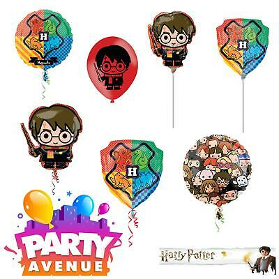 Harry Potter Balloons Themed Party Hogwarts Latex & Foil